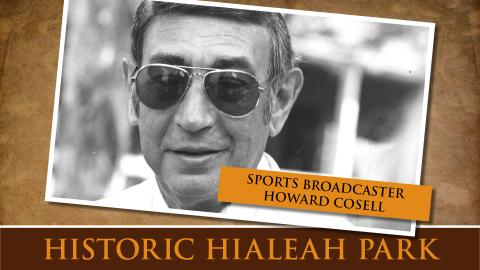 Sports Broadcaster Howard Cosell